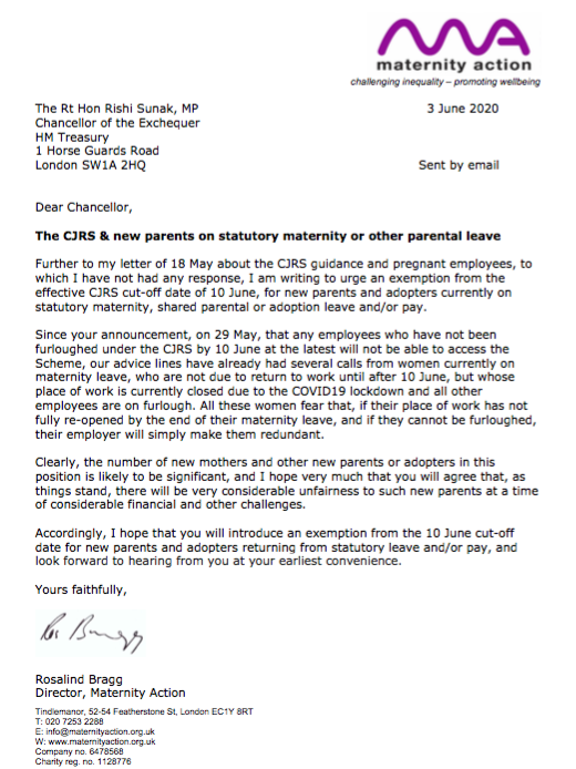 Maternity Leave Letter To Employee from pbs.twimg.com