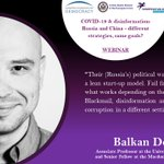 Image for the Tweet beginning: Recalling @MLInstitute's Senior Fellow @BalkanDevlen's