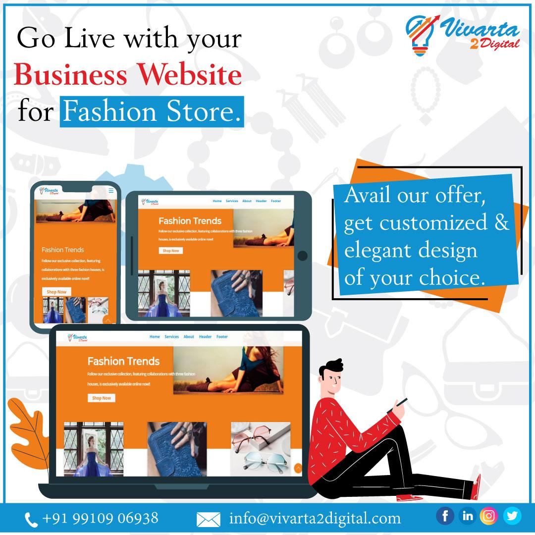 #vivarta2digital #websitedesign #development #company #ecommercesite #elegantdesigns #costeffective #youronlinestore #responsive #products #services #addtocart #wishlist #onlinepayment #onlineorder #customers #prospects #digitalmarketingagency in #Zirakpur, #Chandigarh, #Indiapic.twitter.com/SAOEkTQpZv