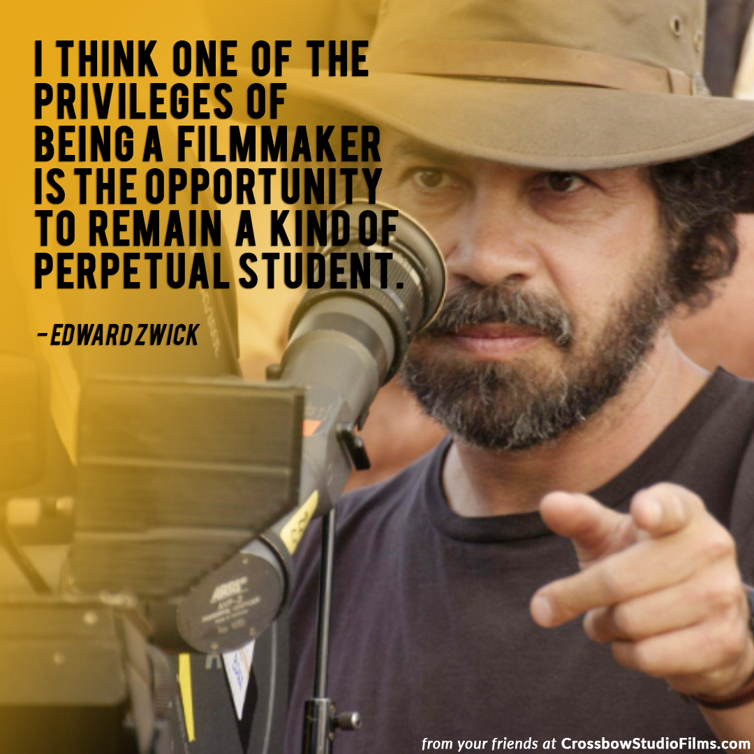 I think one of the privileges of being a filmmaker.. #edwardzwick #filmmakers #filmdirector #movieloverpic.twitter.com/umCyRNrooq