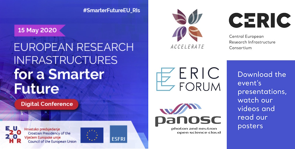 Last month PaNOSC was showcased in the ePoster wall at the @ESFRI_eu #SmarterFutureEU_RIs conference. Have a look at our poster here 👉https://t.co/VdWiiqrrXL and find more contributions from other projects and initiatives involving ESFRI #EU_RIs#EOSC #FAIRdata #OpenData