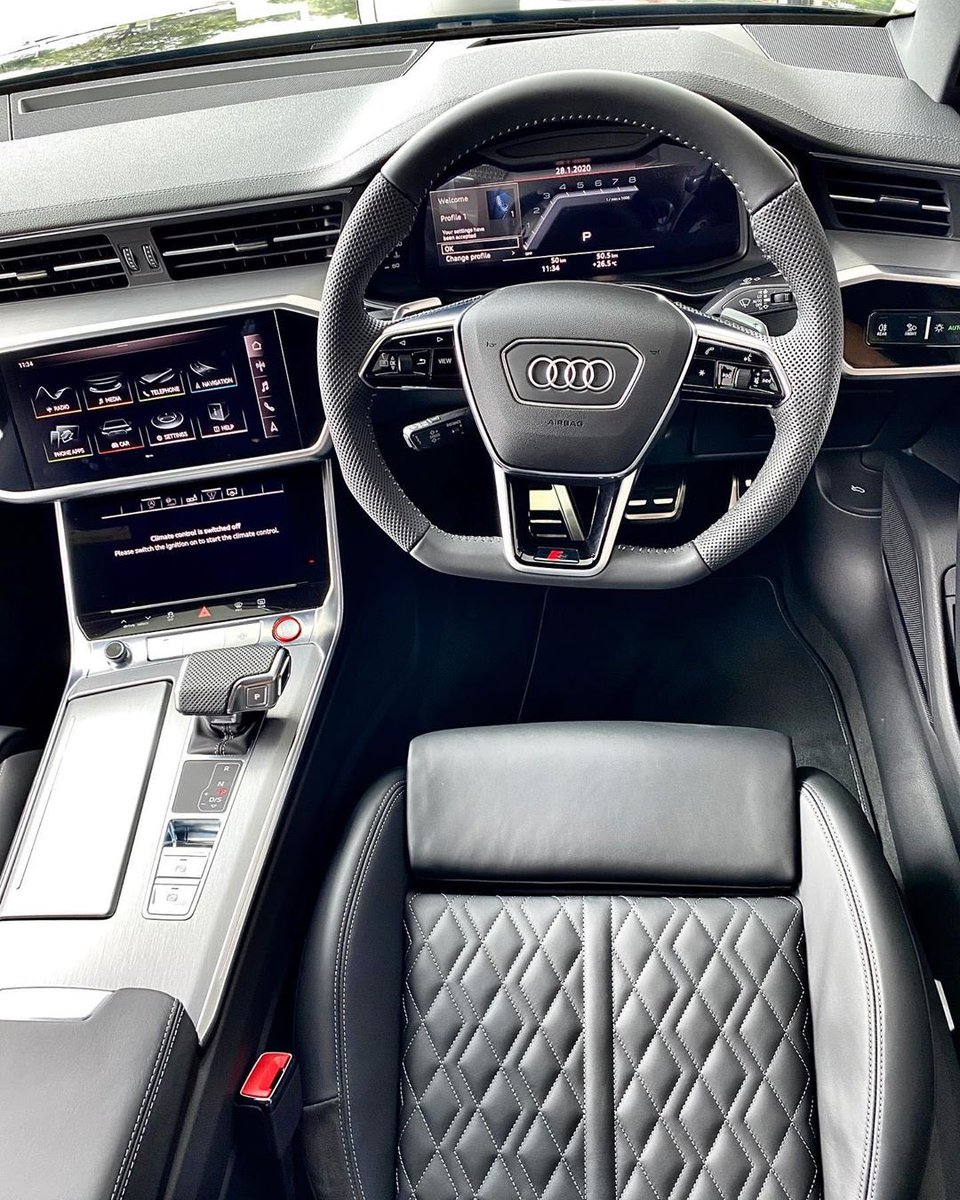 Heightened levels of performance, distinct volumes of connectivity. The Audi S6 Sedan is the progressive automotive blend of style and intelligence youve been waiting for. Inquire with your local dealer today: bit.ly/30aYthx 📸 IG- audisandton #audisouthafrica #AudiS6