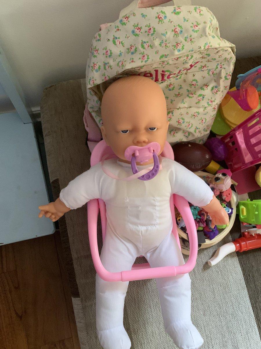 When did kids dolls get an attitude? #wednesday