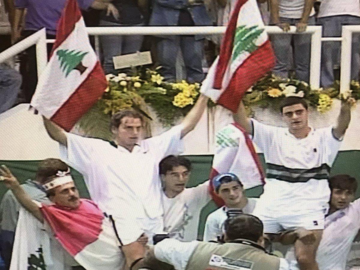 #رياضة_بالبيت 🎾 الليلة مع نهائي كأس ديفيس ١٩٩٩ زوجي للرجال بين #لبنان و #إيران الساعة 00:45Am على شاشة الـLBCI @LBCILebanon  #DavisCup #LBCISPORTS https://t.co/Tq71DNYljT