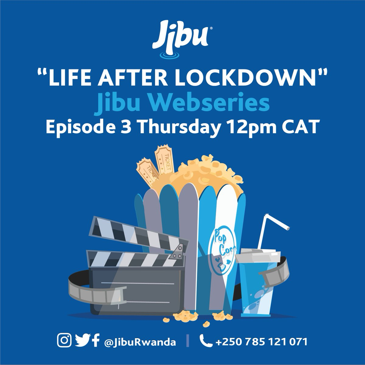 """JIBU have  launched a new online WebSeries!  We will be sharing fun and informative videos that will make us look forward to returning to """"LIFE AFTER LOCKDOWN"""". Tune in tomorrow for Episode#03 at 12pm CAT .  If you missed Episode#01& 02, check it out here: https://buff.ly/2Z0t3tEpic.twitter.com/vKSpRuXnhs"""