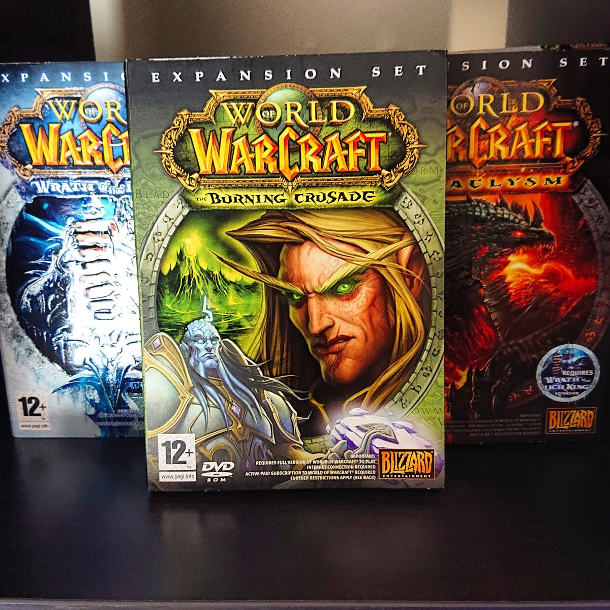 Which World of Warcraft expansion was your favourite?  Mine was probably Wrath of the Lich King! I used to play sooooo much pvp!   I also love the box art!    Let me know in the comments! #worldofwarcraft #wow #PCGamer #gaming #retrocommunity #retrocollectivepic.twitter.com/CLRifg94uU
