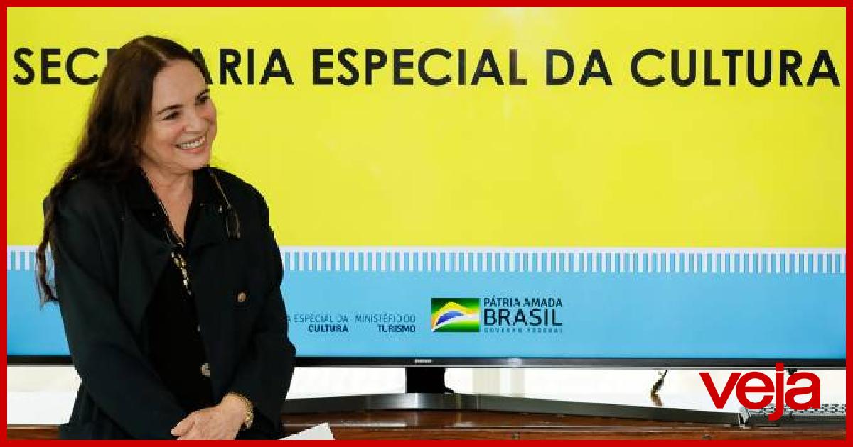 'Demitida', Regina Duarte continua dando expediente na Cultura (via @radaronline) veja.abril.com.br/blog/radar/dem…