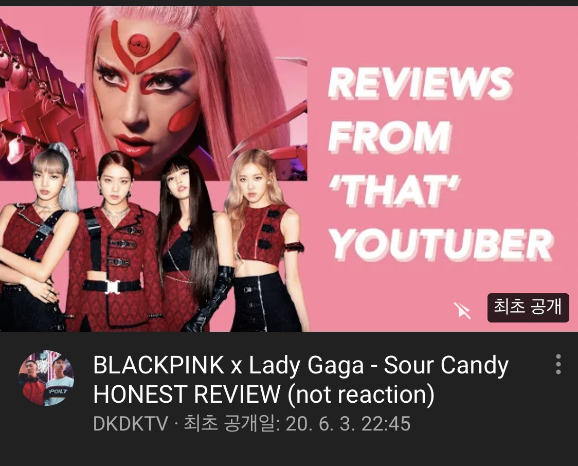 Here comes Kpoptany Dantano, Internet's busiest music nerd with a review Of Blackpink x Lady Gaga! The first episode kf You're Not Gonna Like Me. Do you want more? https://t.co/6XRDhP5nPz https://t.co/8red7FACqG