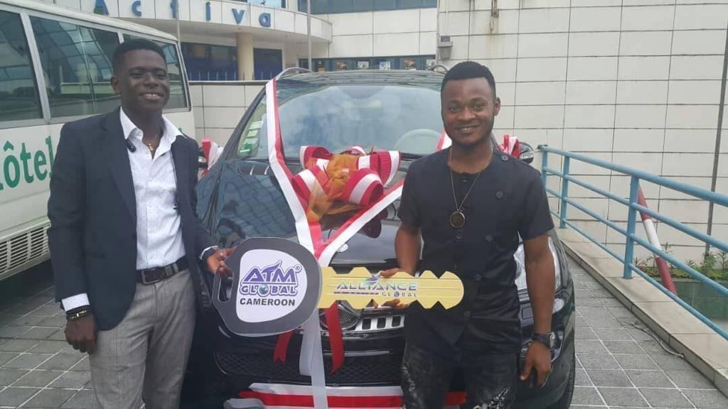 In his 3rd year of doing AIM GLOBAL business here he comes celebrating his 3rd Car personally purchased by him just from doing this business.  Doubt has killed so many people's future. Live your dream life with our amazing business.    WhatsApp +81 80 2833 4459 <br>http://pic.twitter.com/wpPPNlxd0m