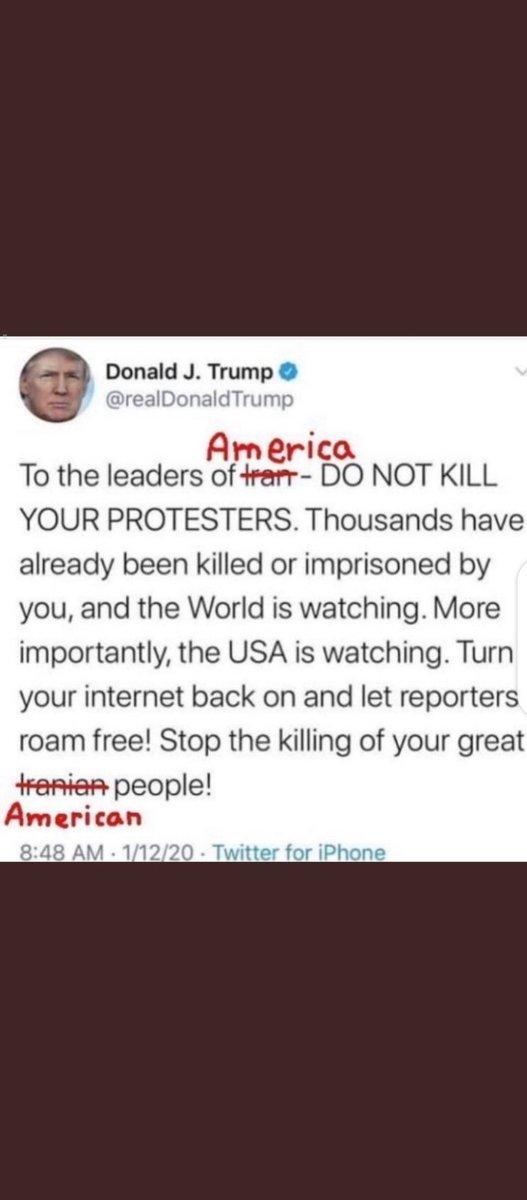 it's amazing how hypocritical this man can be #TrumpIncitesViolence #TrumpOut2020 #TrumpDictatorship pic.twitter.com/Zf8fv5JBUs pic.twitter.com/fJRGqYm7gdpic.twitter.com/V3Ve72j0au