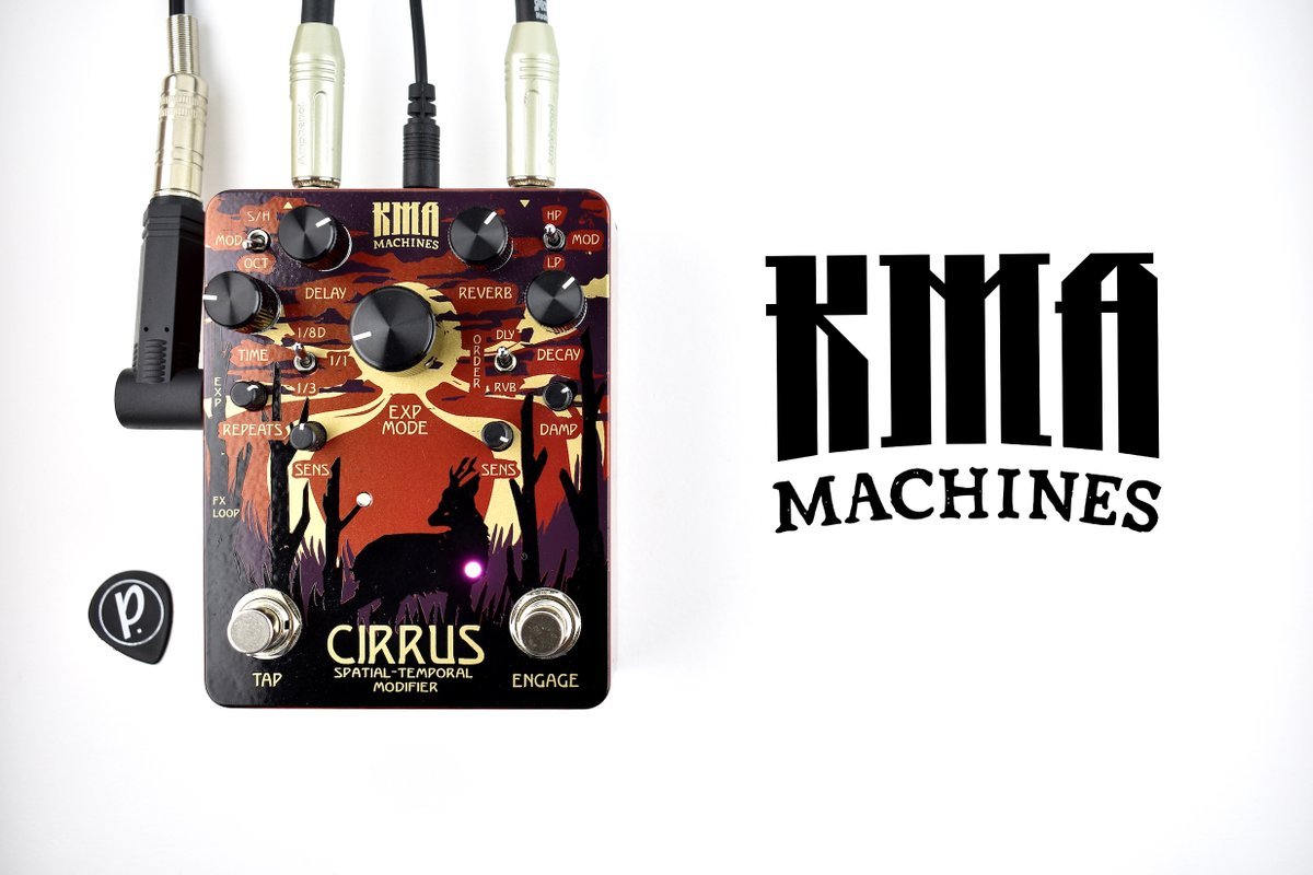 We've got the Full Review and Demo Video for the @KMAMACHINES Cirrus Spatial-Temporal Modifier Delay Reverb at  https://www.pedal-of-the-day.com/2020/06/01/kma-machines-cirrus-spatial-temporal-modifier/ …  and on our #YouTube channel as well! Subscribe, Follow and Like! #pedaloftheday #pedalsandeffects #knowyourtone #kma #cirrus #becausetonepic.twitter.com/1R8c3BTCVe