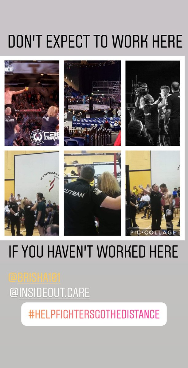 Don't expect to work in a big arena on a massive show if you haven't work in small halls and clubs, what you put in is what you'll get out of it. This is not easy work and takes a certain type of person ❤️ #fightersafety #education #cuts #alwayslearning #smallshows #massivearenas https://t.co/8ZDBCmJWCP