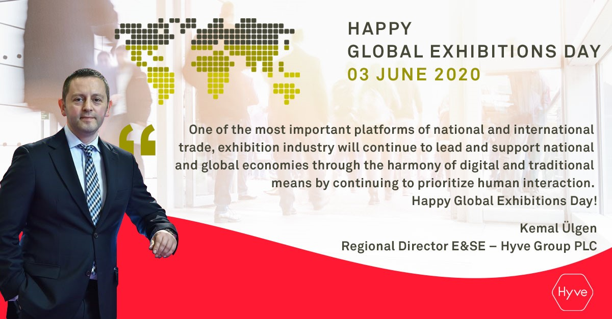 Exhibitions are key to rebuilding economies. Happy Global Exhibitions Day to all! 👏  #GED2020 #GlobalExhibitionsDay #DünyaFuarcılıkGünü  @UFILive @hyve_group @TfydTurkiye @GED_2020 https://t.co/ILqwOFsXXd