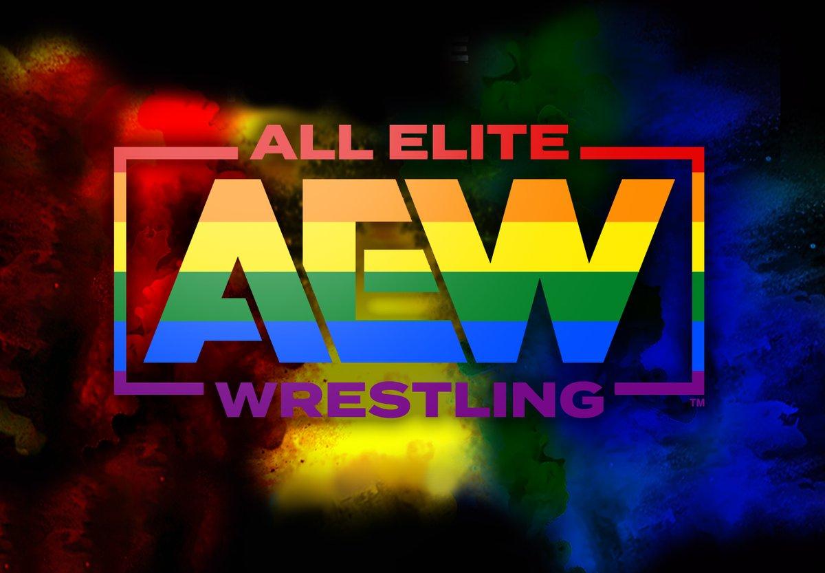 I made some Pride edits of AEW!  #pridemonth #pride #aewheels #AEWonTNT #AEW #AEWDark