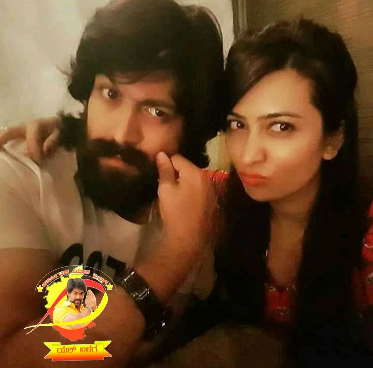 Boss @TheNameIsYash and Athige https://t.co/b0Y78EpUFM