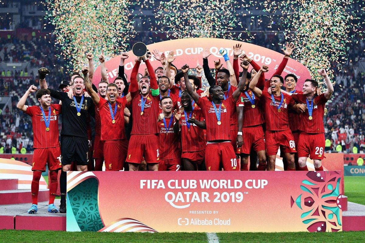 The world champions turn 128 today 🌍🔴 Happy birthday, @LFC 🥳 #HBD | #ClubWC