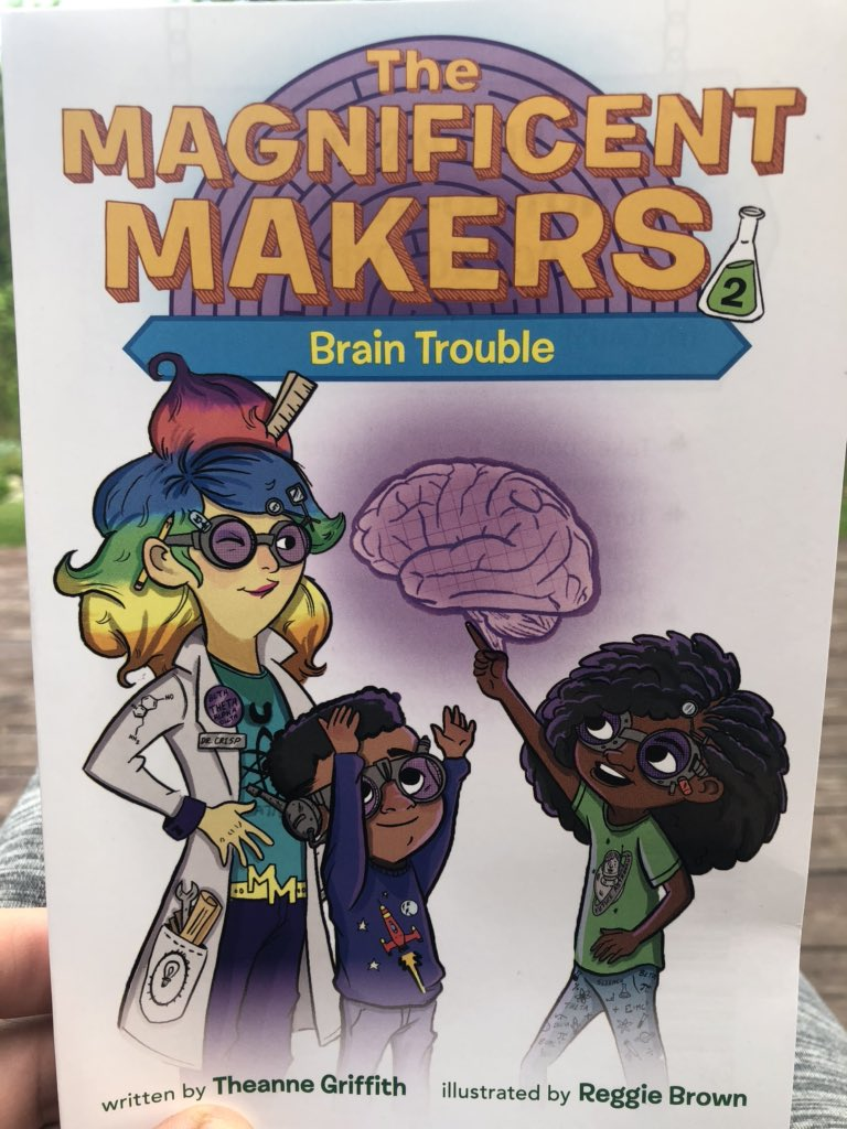 Violet and Pablo are the heroes we (& our children) need right now. #magnificentmakers by @doctheagrif Please add this series to your libraries. @jlbowling @WayneRESAELA @melyiplit @WRESA_EdImprove @ernestmorrell @TanyaSWright #michiganliteracy <br>http://pic.twitter.com/k1U03CaLOx