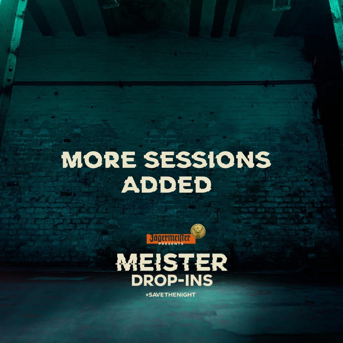 This thursdays MEISTER DROP-IN intimate session w/ @jagermeistersa is co-hosted by : @OfficialGZY We break down EMSAMU + talk production hints and tips. To join/rsvp : bit.ly/EmsamuBD