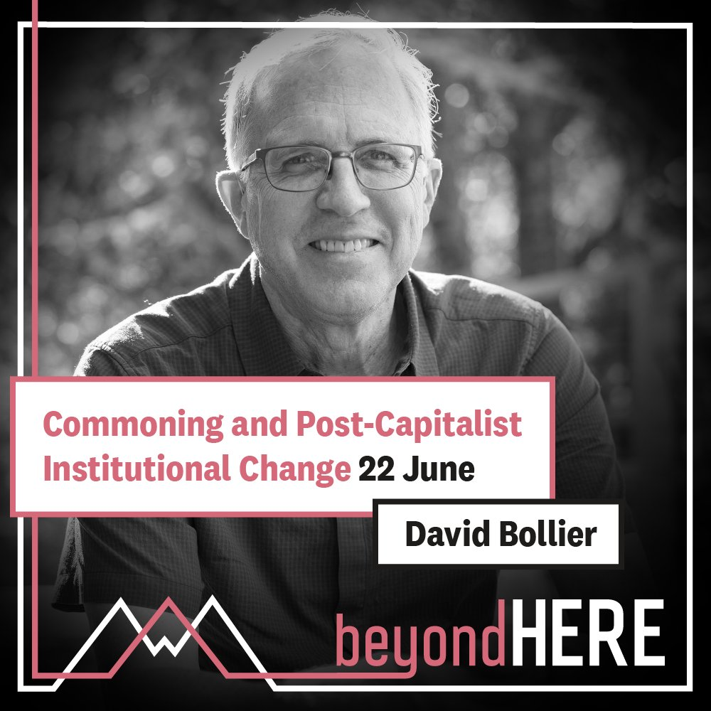 Even though the crisis has exposed flaws in the market/state order, post-capitalist institutional change is not inevitable. Join David Bollier's 22 June webinar on the commons. https://t.co/1fda609Ius https://t.co/0azQ8zDo8z