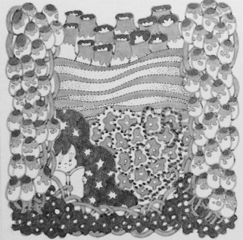 かなしいおはなし  #イラストレーション #イラスト #カタチ #ペン #ペン画 #コピック #illustration #art #artwork #drawing #pen #copic pic.twitter.com/1QVAC89by1