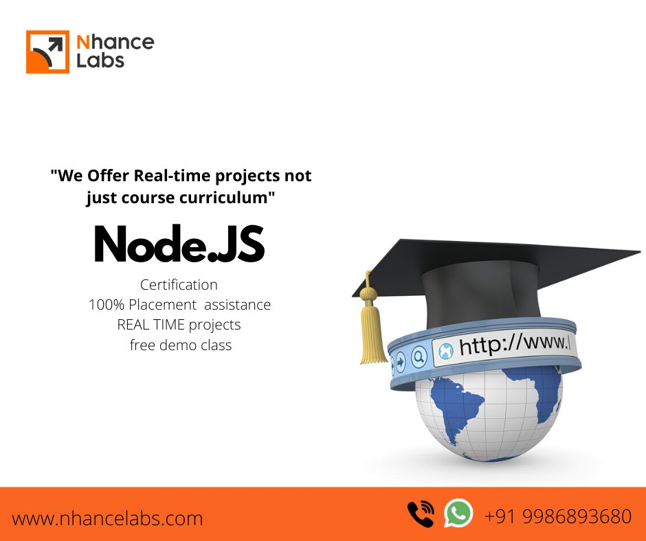 When everyone is looking for expert professionals, we make you one! Our trainers are not teachers, they are team/technical leaders who create great team members. Enquire now and develop a new skill from your comfort zone..!!! Visit :  https:// nhancelabs.com     #webdevelopment <br>http://pic.twitter.com/LvJQ0s6Kaw