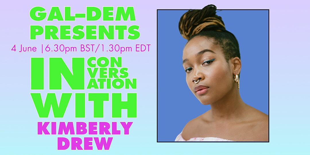 Join activist, author and curator Kimberly Drew @museummammy for an intimate discussion with @galdemzine's Mariel Richards tomorrow eve.   Get tickets ▶️ https://t.co/QJizHXZkXC https://t.co/H8pzQy43DL