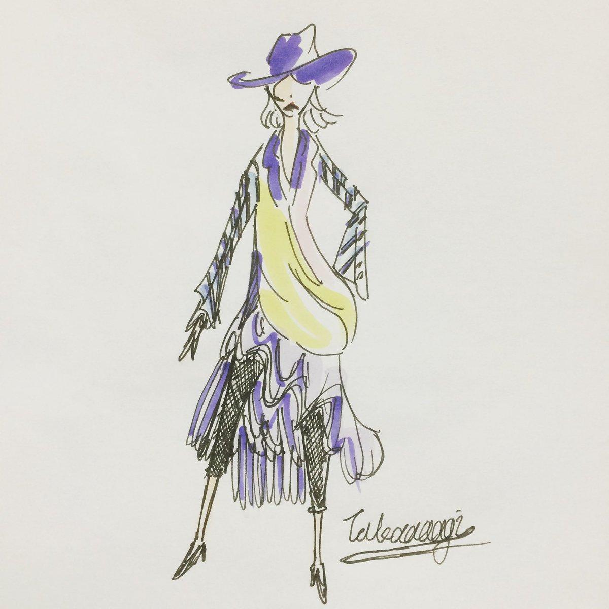 少しずつ作品をご紹介。  多分ファッションのデザイン画とかをみた日に描いた。 気持ちだけデザイナー。 本職の方には笑われてしまうけど。  #イラスト #絵 #手描き #コピック #絵描きさんと繋がりたい #fashion #pen #copic #design #illustration #illustrator  #painting #drawing #art #takaaaagipic.twitter.com/FgEzXaIdht