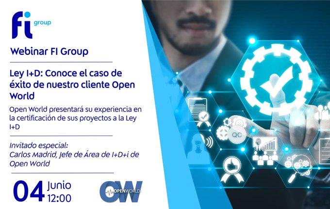 ⏰Te esperamos mañana para que conozcas el caso de éxito de nuestro cliente Open World, compa....
