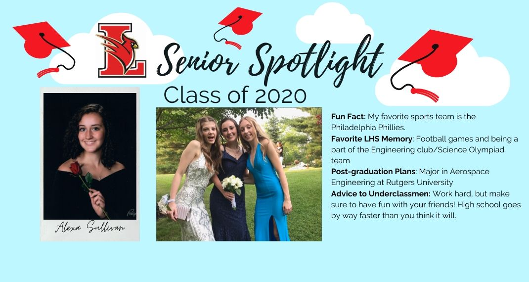 So proud of our seniors! #SeniorSpotlight #ClassOf2020 #LawrenceStrong @dadamltps