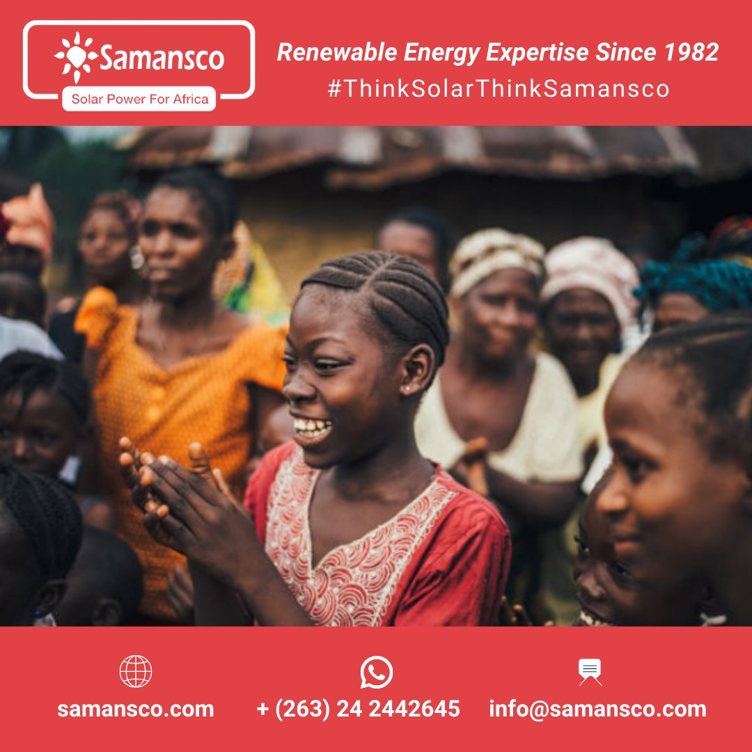 Since our company was founded in 1982, we come with 38 years of dedication. 38 years of expertise. 38 years (and counting!) of spreading smiles and sustainability across Southern Africa. #ThinkSolarThinkSamansco #1982 #renewableenergy #samansco #solarpower #solarenergy #Zimbabwepic.twitter.com/a8kJOz2CVb