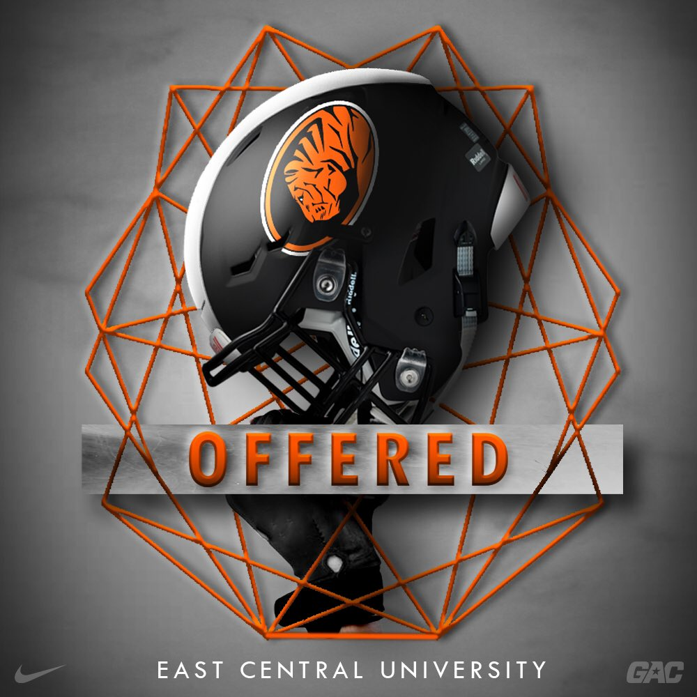 After a great conversation with @coachyoyo_ I am excited to say I have earned my first Division 2 offer to play at East Central University !! @ECUTigersFB @CoachNickStokes @story_kylepic.twitter.com/0YuW7DXEp6