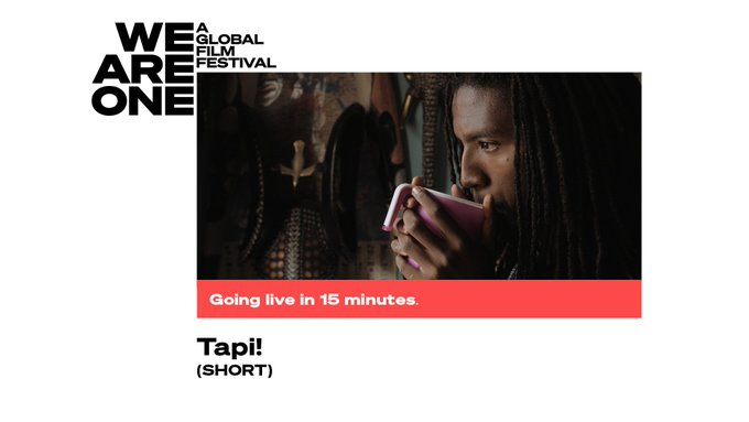 """.@WeAreOneGFF LIVE NOW!:  @jimchuchu and @thisisthenest's """"#Tapi!"""" — curated by  @IFFR  — is almost here at #WeAreOne! Tune in now so you don't miss a second: https://youtu.be/AlIOnf4Bq5Mpic.twitter.com/ClkF6BJT9J"""