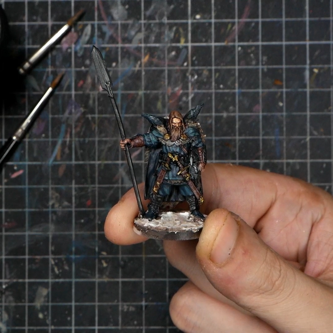 I painted this model from Blood Rage on my Patreon http://patreon.com/miniaturesden. It's a full video guide on how to paint this Raven Clan Warrior in tabletop quality @CMONGames  #bloodrage #cmon #boardgames #miniaturepainting #boardgame #coolminiornot #miniatures #cmongamespic.twitter.com/Sr9irSIU3P