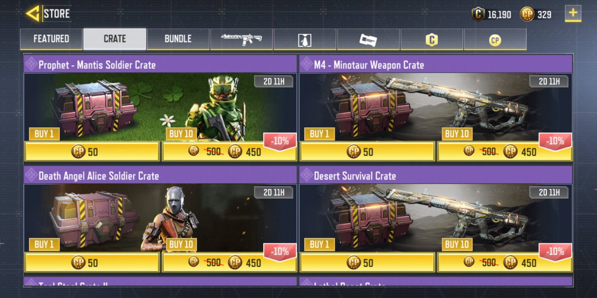 @CODM_murdablast hmm the timer on the crates in the Indonesian garena is 2 days 11 hours, so what now? pic.twitter.com/L8BEpa3pUM