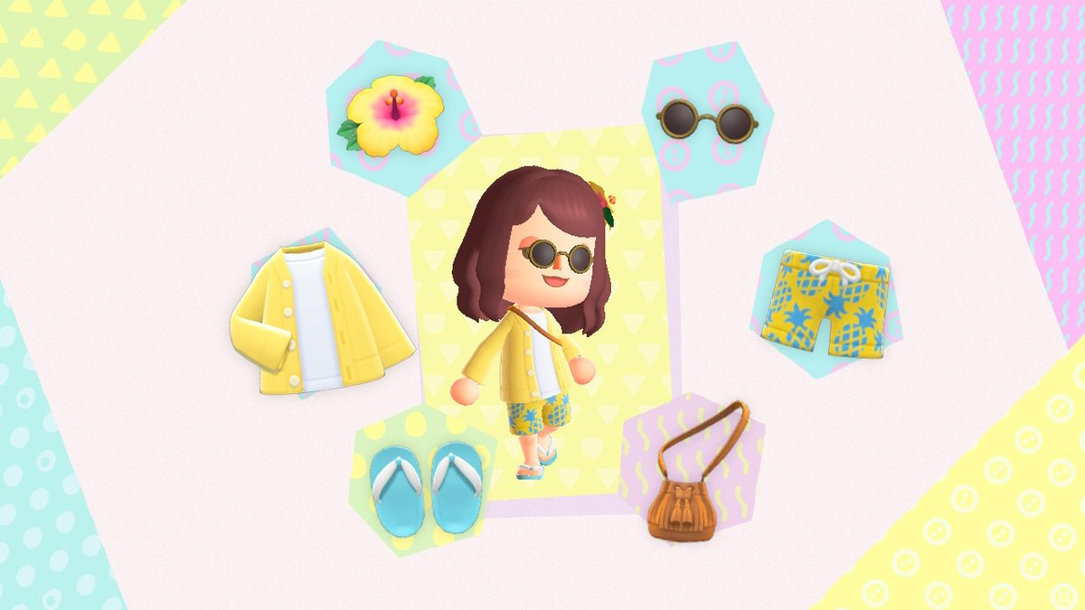 spring/summer looks #AnimalCrossing #ACNH #NintendoSwitch