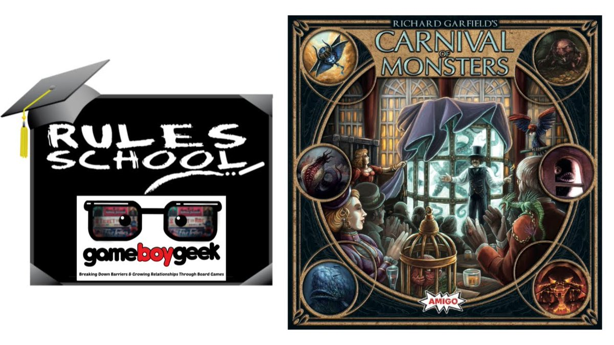 Skip the rule book and learn how to play Carnival of Monsters by Amigo Games.  #howtoplay https://boardgamestories.com/learn-to-play/how-to-play-carnival-of-monsters-rules-school-with-the-game-boy-geek/…pic.twitter.com/Un0Det1Svq
