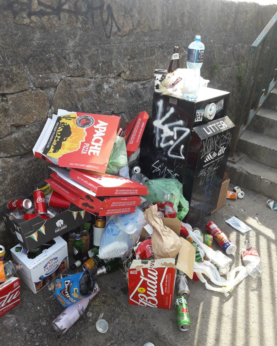 Below is just some of the illegal dumping local authorities are dealing with. Waste services are operating normally so dispose of your household waste responsibly & if you are enjoying #YourCouncil parks or beaches, take your rubbish home with you! <br>http://pic.twitter.com/AIvUziUfaB