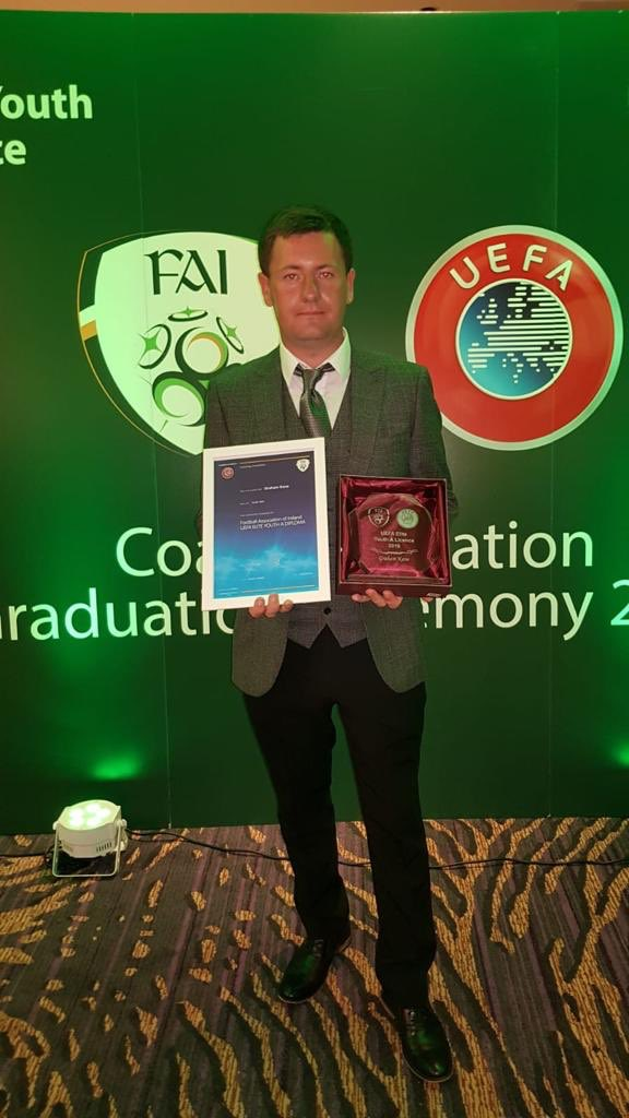VSI are delighted to welcome @GrahamKane93 from @FAIreland onto the VSI 2020 Sporting Directors programme 👏👏 See you in September Graham 👉 info@vsiee.com #Sportingdirector #Education @sportcareersuk