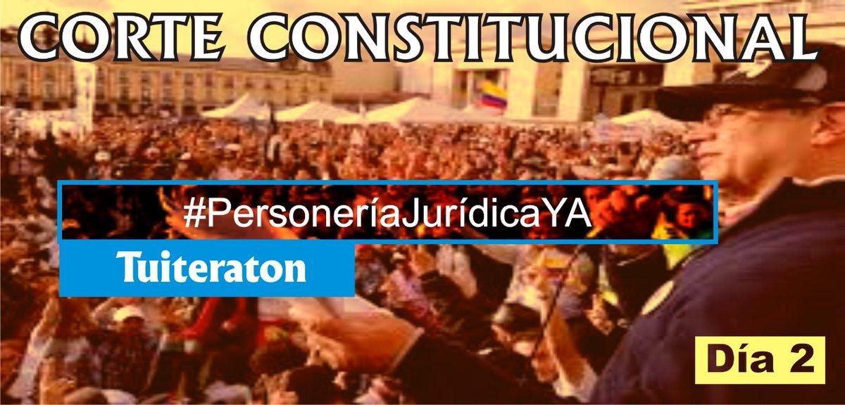 #Día 2 Respetada  @CConstitucional: Solicitamos para Colombia Humana   #PersoneríaJurídicaYA  Somos 8.040.449 votantes,  solicitamos nos sea amparado el derecho fundamental y autónomo a la oposición.    Fortalezcan la DEMOCRACIA!  Favor RT Copia y pega https://t.co/ovIHfl06K0