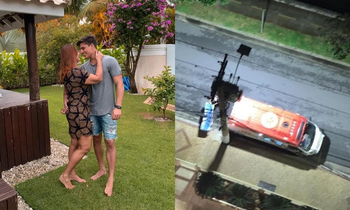 Nadine Gonçalves, mãe de Neymar, e o namorado Tiago Ramos discutem em casa, e modelo sofre ferimento grave na mão, diz G1 – Saiba detalhes http://bit.ly/3gMD9Vb (: Reprodução/Instagram/G1)pic.twitter.com/GlMKpwJtUS