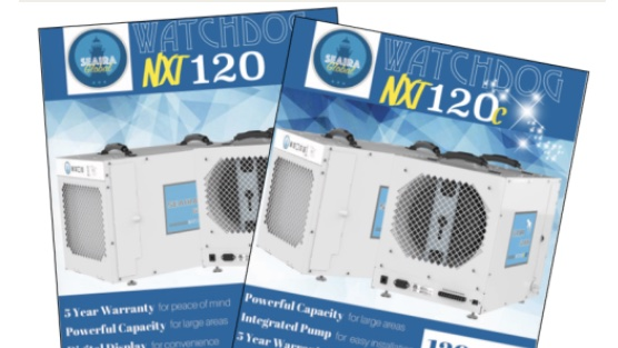 Have you seen our NXT120 and NXT120c flyers? Check them out here--> seairaglobal.com/infographics.p… #wednesdaywisdom #dehumidifier #watchdog