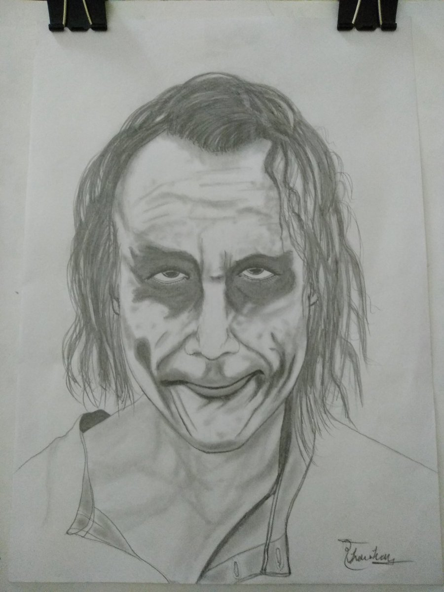 @thejokerlines @thejokerlines Dear Sir, I made your portrait in your honor, hope you like.
