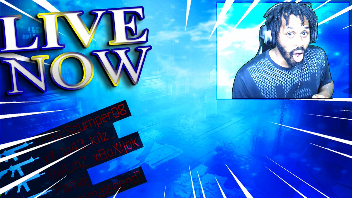 We are back people, but we LIVE NOW! I need some help so come join the fun. @CallofDuty @CAE_RT #CallofDuty #Warzone #Geminisplace #YouTubeLive CLICK LINK:youtu.be/bxZ8COgydvQ