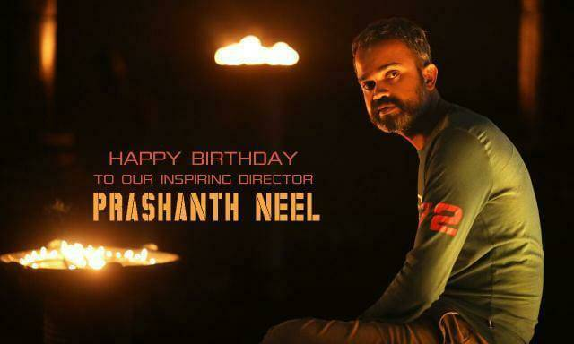Many Many Happy Returns of The Day @prashanth_neel Sir♥️  Inspiring Everyone By Dreaming Big Since Your First Step👣 in Industry.Keep on Continue, Wishing u all The Best...!!  #HBDPrashanthNeel https://t.co/20hLpLzmCe