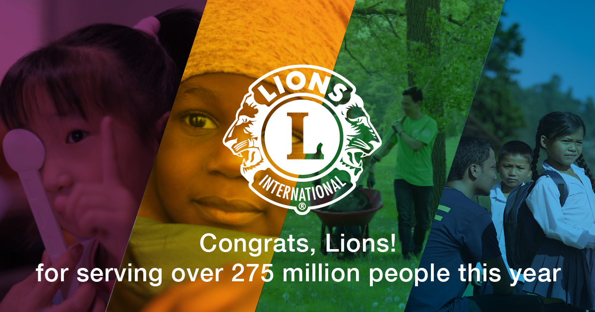 test Twitter Media - We're celebrating the success of serving more than 275 million people. LCI Forward, our five-year strategic plan has set us on the path for our next century of service. Share with us how you are celebrating the humanitarian milestone! https://t.co/TawXUZ4HmD