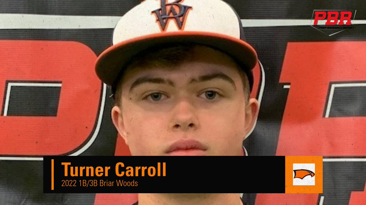 Uncommitted Profile 🔦: Turner Carroll @TurnerCarroll1 (@BWBaseball1 ) 2022 1B/3B Projectable 6-foot frame. Hits from the left side w/ whippy barrel through the zone & flashes some doubles power to the pull side. 👀🎥&📝👇 zcu.io/s5Bq #ShapeTheState