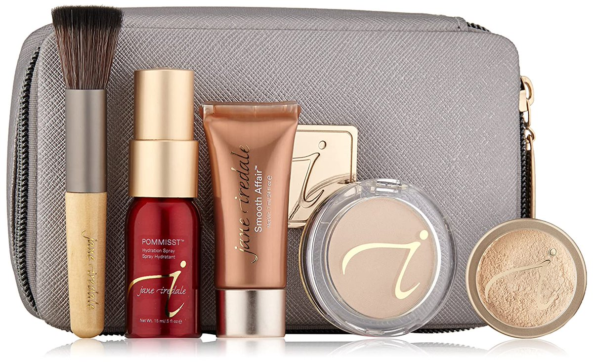 Jane Iredale Starter Kit, Light. Price: $.56.00 For details check this link: https://bit.ly/LightStarterKit   #makeup #makeupideas #makeuplover #Premium #beauty #women #womensfashion #fashion #styles #BeautySecrets #BASEpic.twitter.com/VWKqSIUFXV