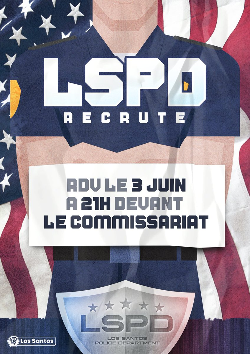 D I R E C T !   Ce soir on recrute au LSPD sur @AlticaRP   -> https://t.co/3pvtxyug02 https://t.co/kHrRSq0Qce