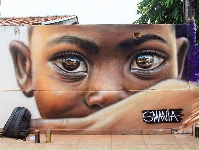 ... we need new stories and new beautiful reflected truths, we need eyes to tell them. Art by Smania #StreetArt #Art #beauty #Eyes #Poetry #NoRacism #Hope #AllLivesMatter  #Humanitypic.twitter.com/Y51m5813us