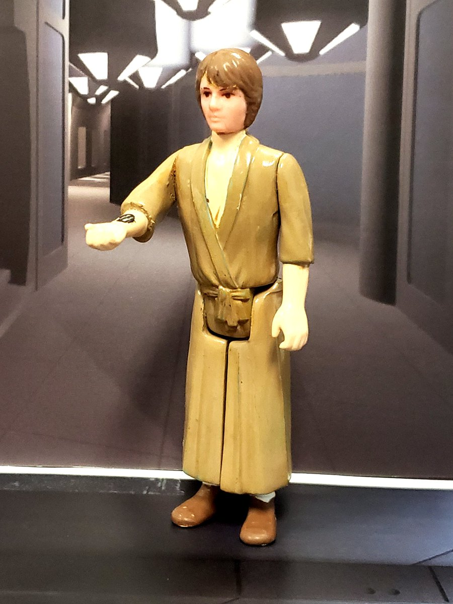 """today's #SocialDistancing custom is """" Medical Frigate"""" Luke Skywalker from the end of The Empire Strikes Back. used Super 7 Rocky Horror Picture Show Brad for the body https://t.co/p8eMuhBVVJ"""